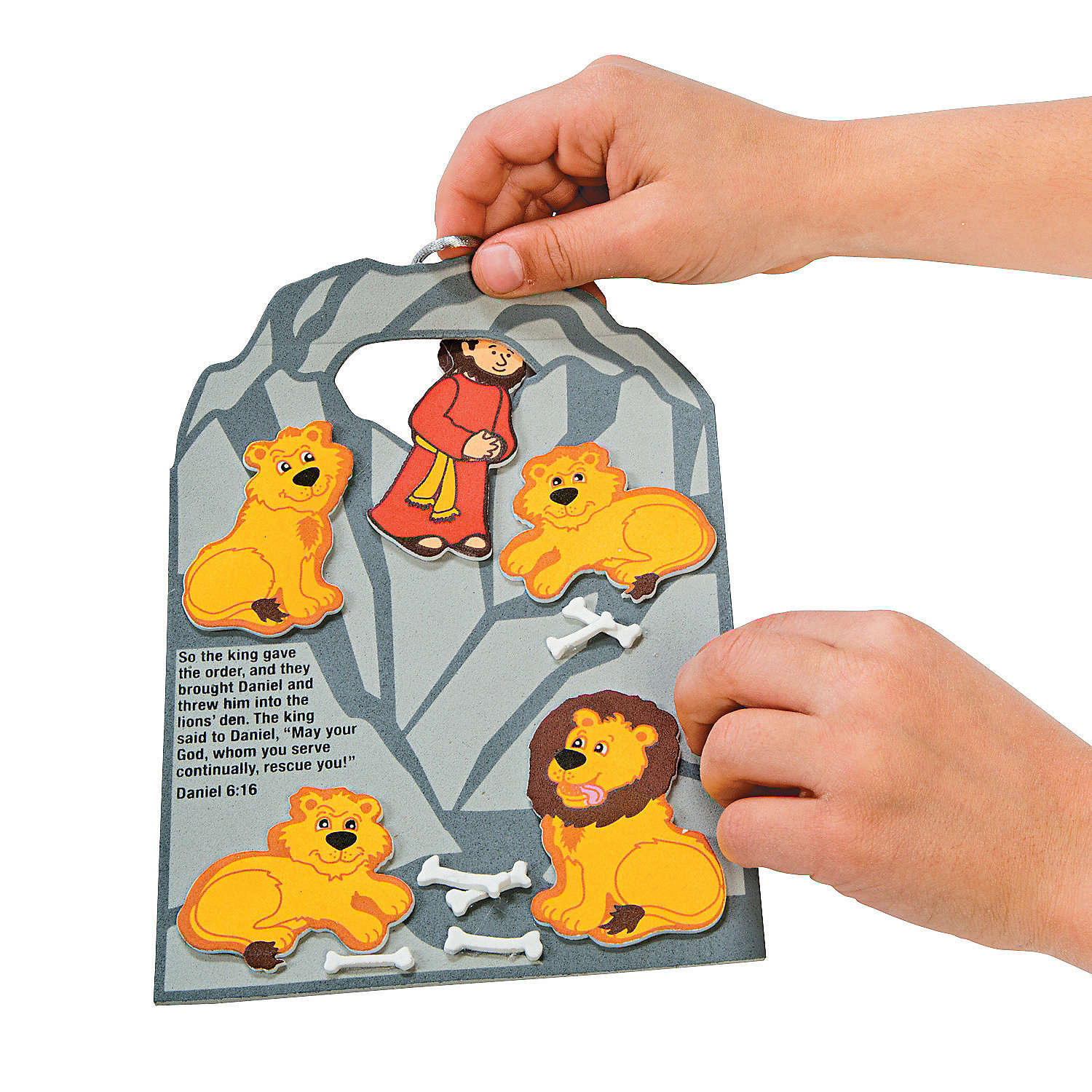 daniel and the lions den craft daniel cast to the lions den craft kit novelty crafts 7656