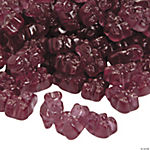 Gourmet Concord Grape Gummy Teddy Bears