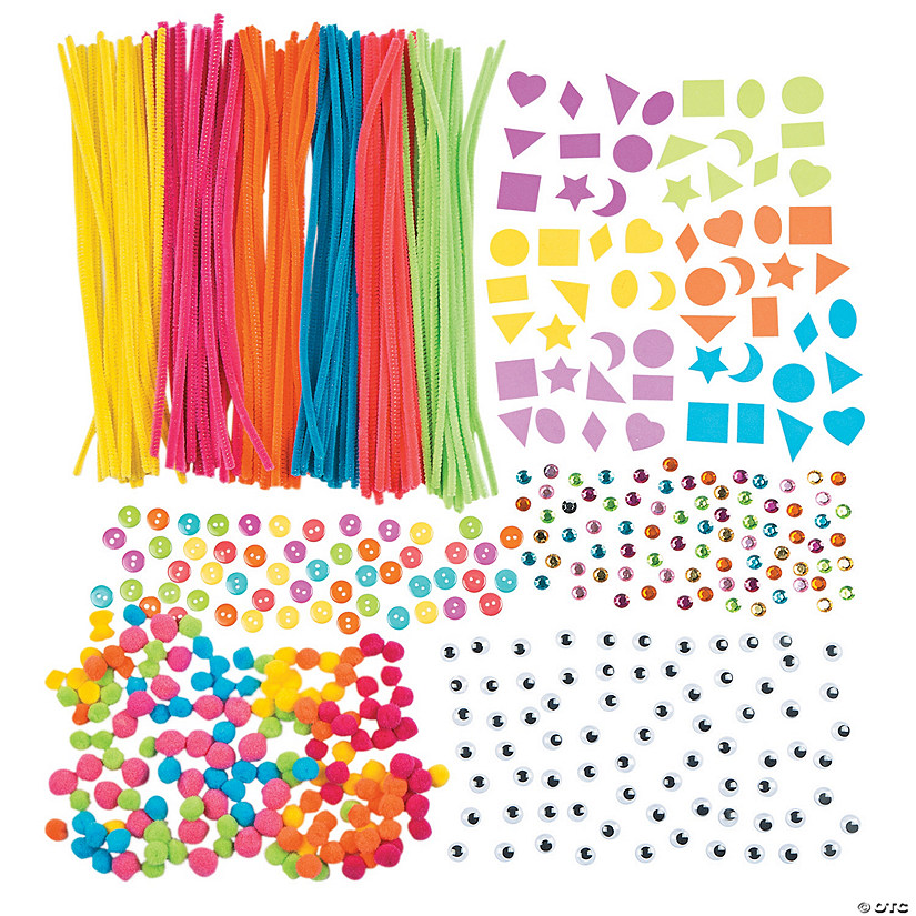 Bulk Neon Craft Assortment Discontinued