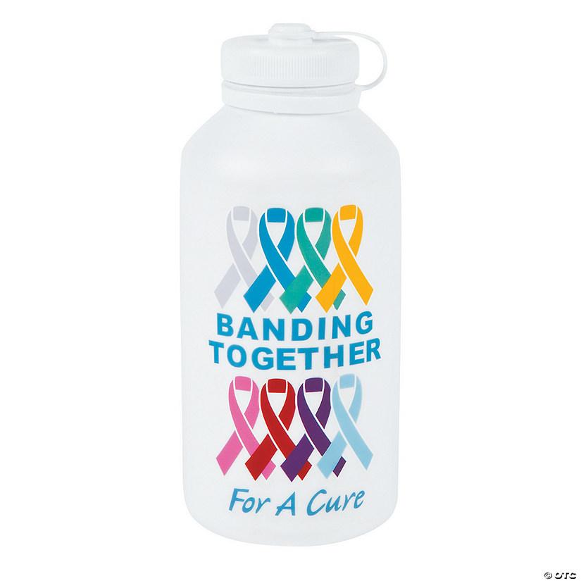 51e1d6c7f4c2 Cancer Awareness Vinyl Water Bottles