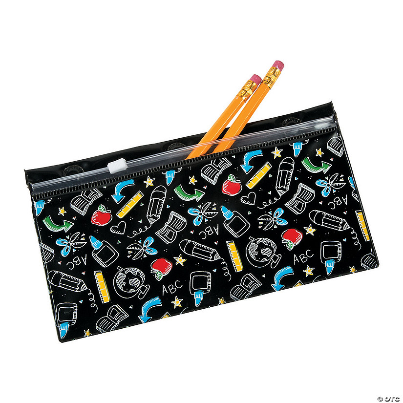 Black & White Magnetic Pencil Cases - Discontinued