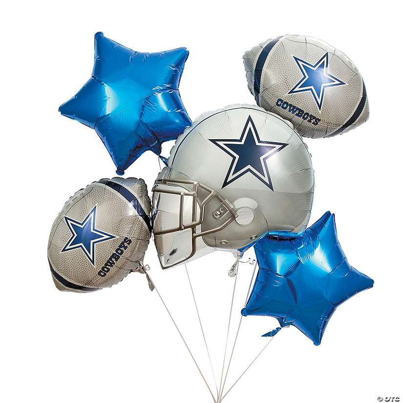 Nfl 174 Dallas Cowboys Mylar Balloons
