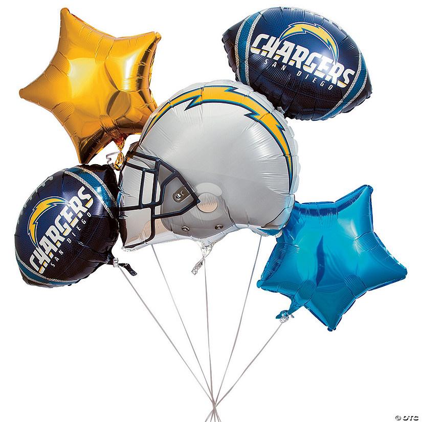 NFLsupR Sup Los Angeles ChargersTM Mylar Balloons