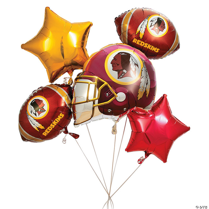 Nfl 174 Washington Redskins Mylar Balloons