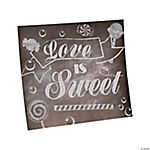 Love Is Sweet Table Sign