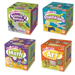 BrainBox S.T.E.A.M. Games: Set of 4
