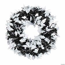 "16"" Halloween Ghost Wreath"