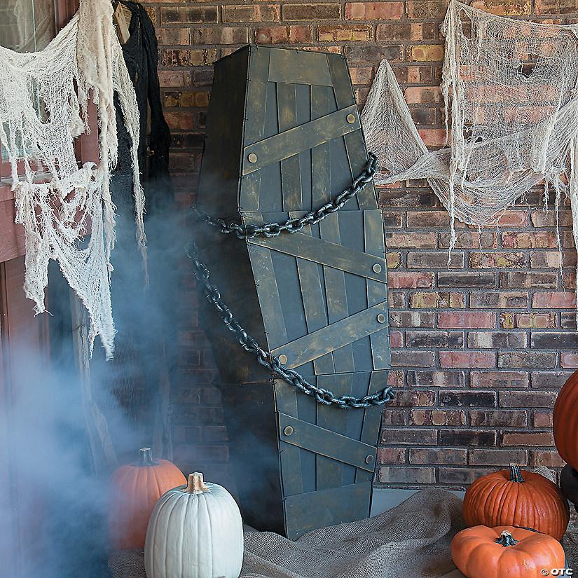 Shaking Coffin Halloween Decoration
