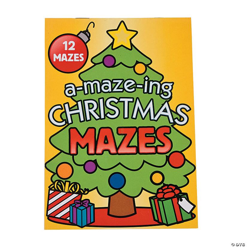 Christmas Mazes.Christmas Mazes Activity Books