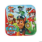Paw Patrol Square Paper Dinner Plates