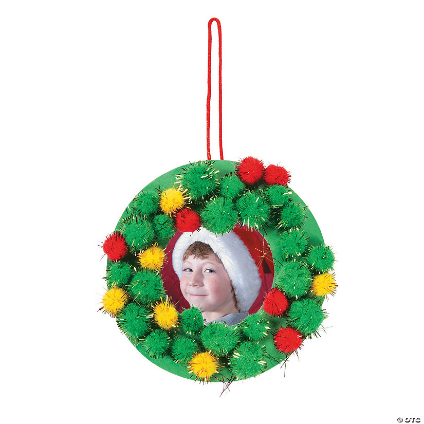 The Pom Pom Ornament Craft That Never Ends: Pom-Pom Picture Frame Ornament Craft Kit