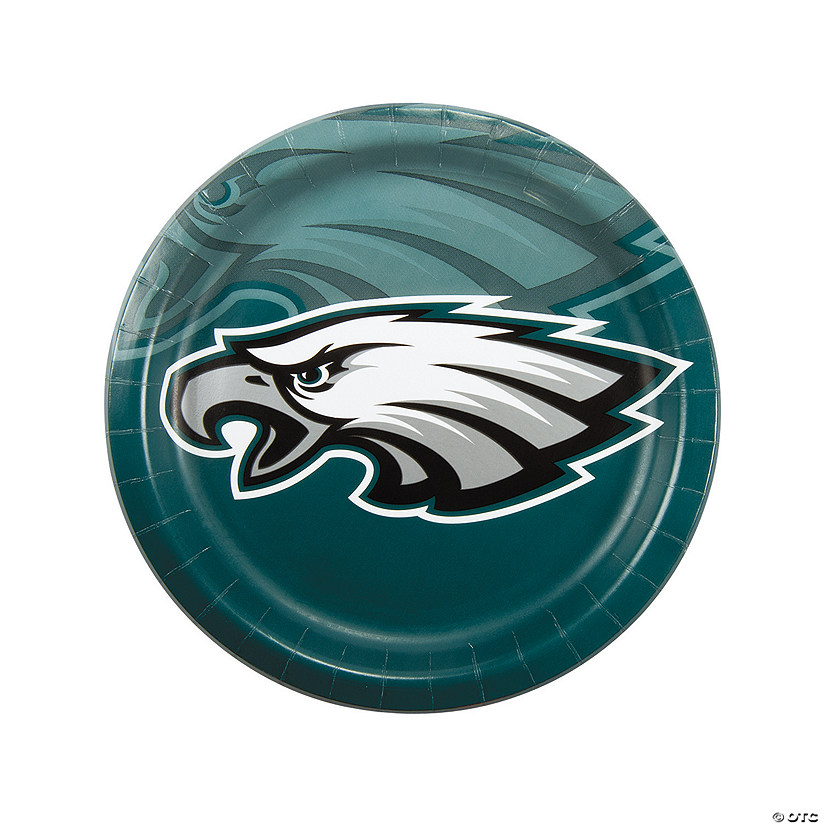 Nfl Philadelphia Eagles Paper Dinner Plates