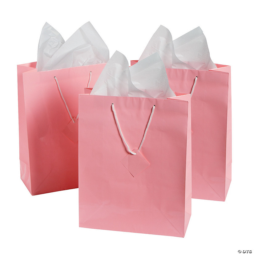 Large Pink Gift Bags Discontinued