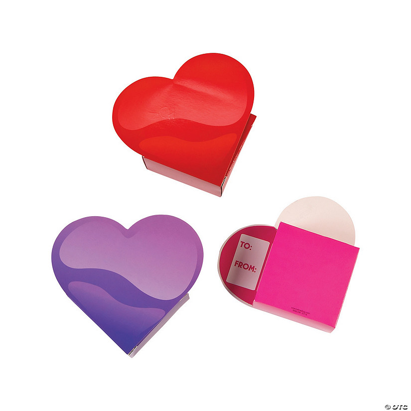 60 pieces Valentines Day Gifts Cards Valentines Cards with 30 Translucent Valentine/'s Hearts for Filling Treats Valentines Day Classroom Exchange Party Favor Wedding Gift Box Containers