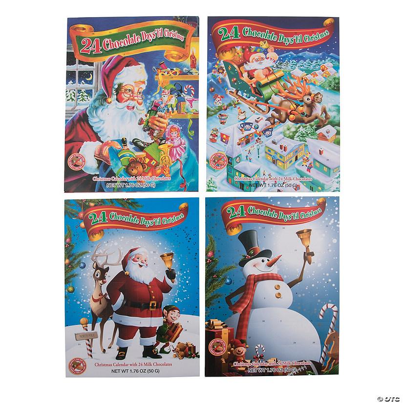 Christmas Advent Calendar.Chocolate Candy Christmas Advent Calendars