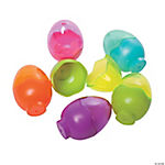 Clear Top Cracked Plastic Easter Eggs