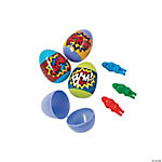 Superhero Filled Plastic Easter Eggs