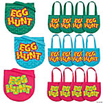 Medium Easter Hunt Tote Bags