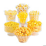 Yellow Candy Buffet Assortment