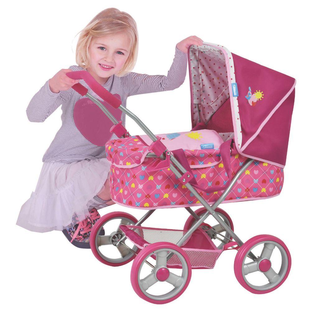 Birdie Doll Gini Pram Stroller Toy From MindWare