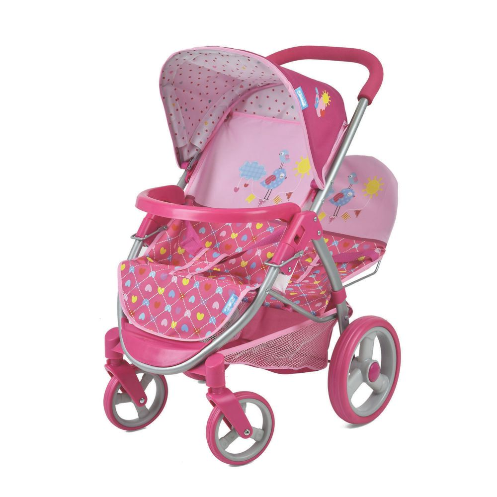 Birdie Doll Malibou Duo Stroller Toy From MindWare