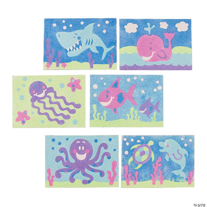 Ocean Animal Sand Art Pictures