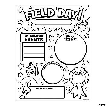This is a picture of Sweet Field Day Coloring Pages