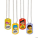 Good Citizen Dog Tag Necklaces