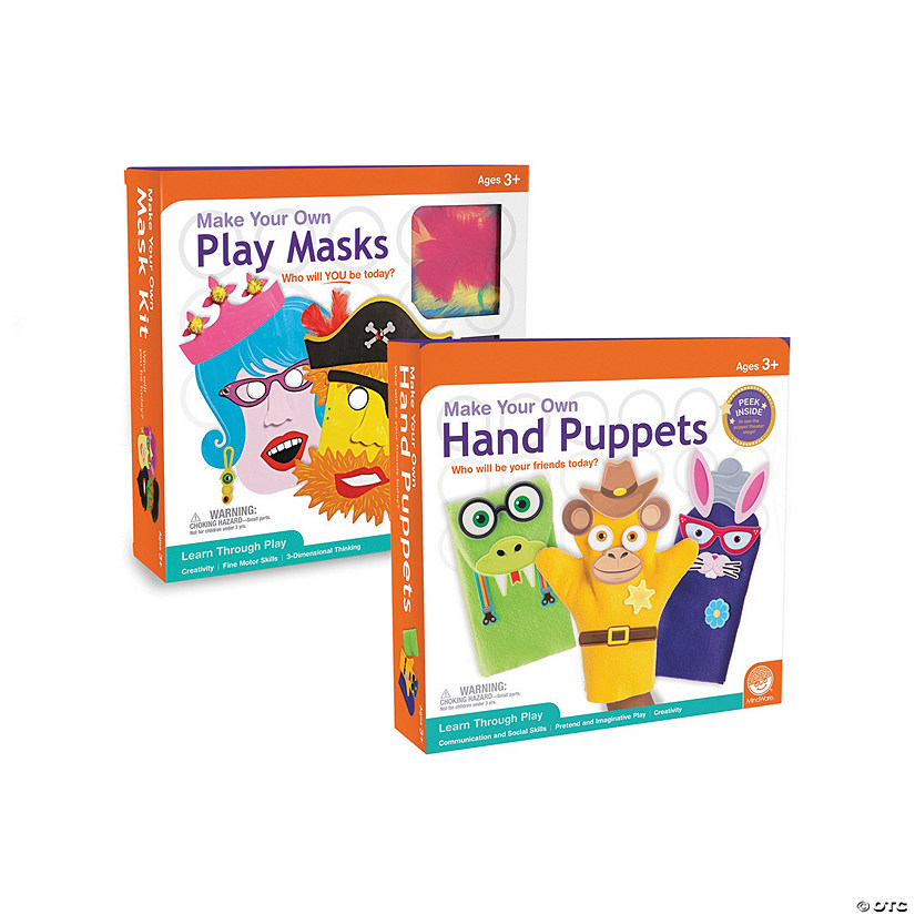 Imagination Craft Kits Set Of 2 Mindware