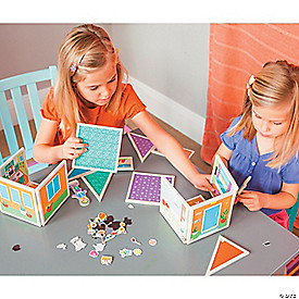 Build & Imagine: The Magnetic Dollhouse You Design Yourself