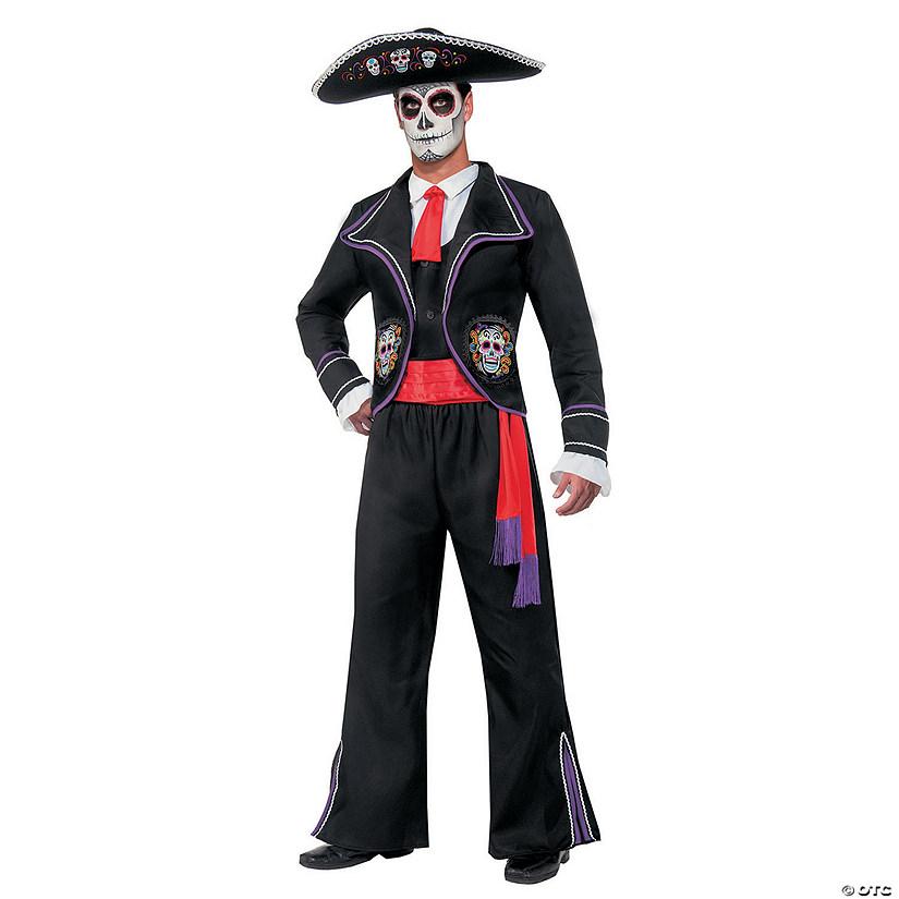 Mens Day Of Dead Mariachi Macabre Costume