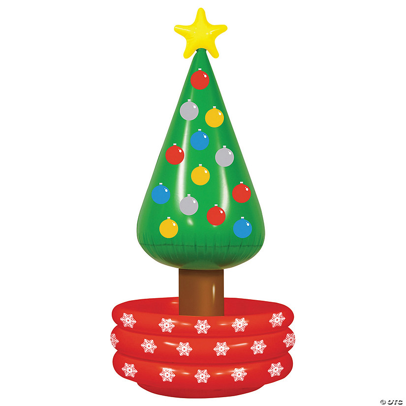 Oriental Trading Christmas.Christmas Tree Inflatable Cooler