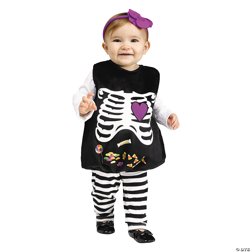 Scary Baby Girl Halloween Costumes.Baby Girl S Skelly Belly Costume Up To 24 Months