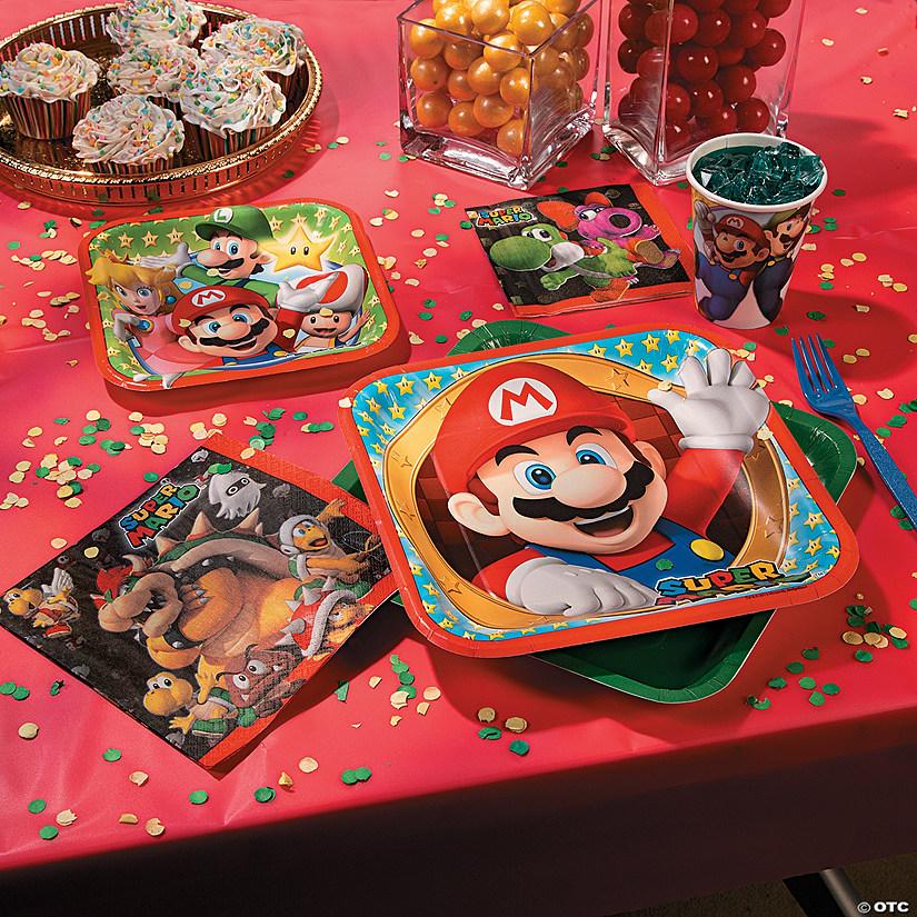 Yoshi and Birdo Beverage Napkins Super Mario by Party Supplies 48 Count