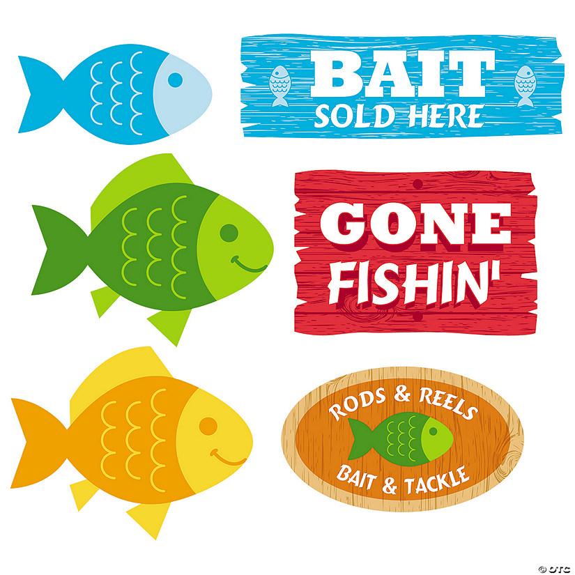 Little Fisherman Cutouts