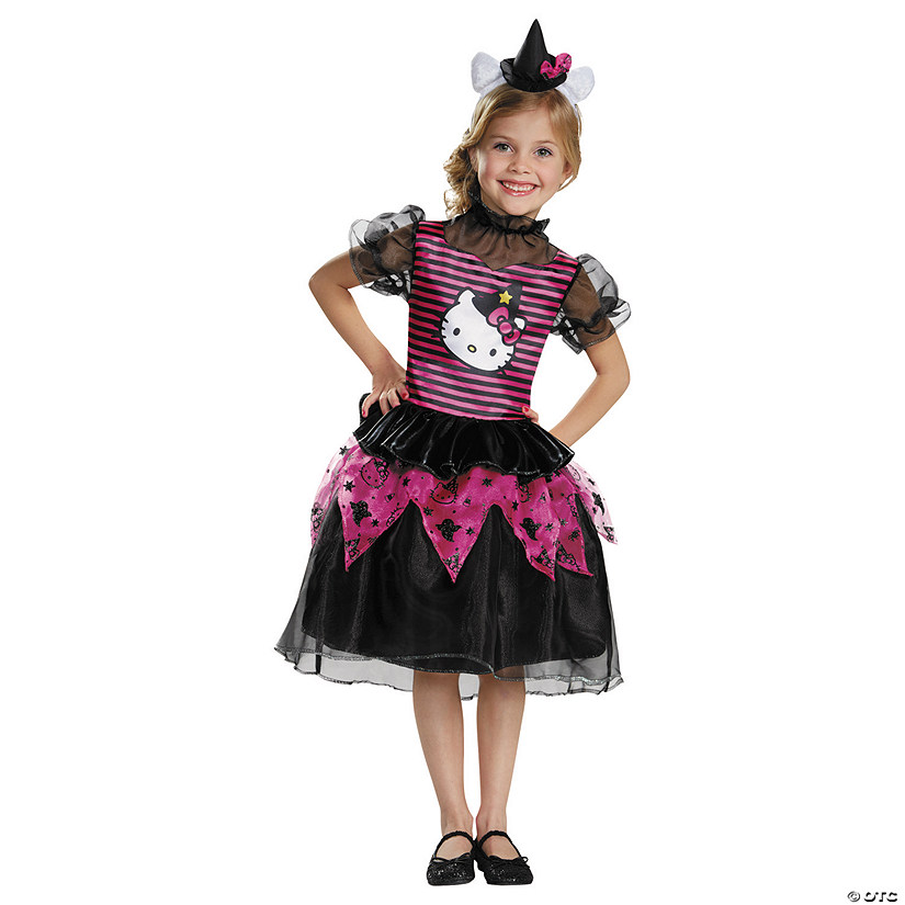 5acce5282fb76 Girl's Classic Hello Kitty™ Witch Costume