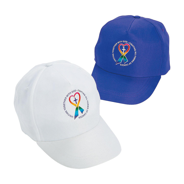 Details about IN-13735755 Cancer Awareness Walk in Faith Baseball Caps  Assortment Per Dozen 2d2147be84c3