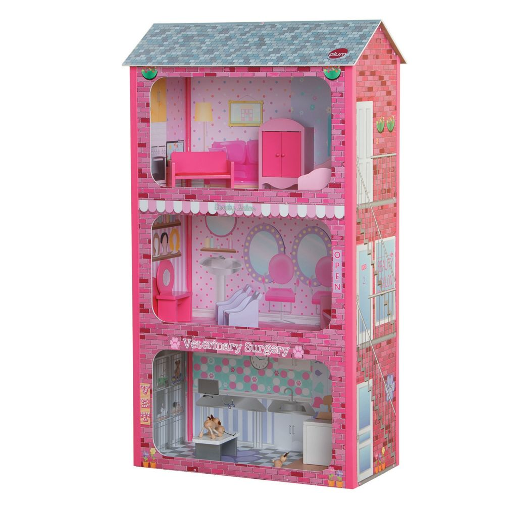Plaza Wooden Dolls House Toy From MindWare