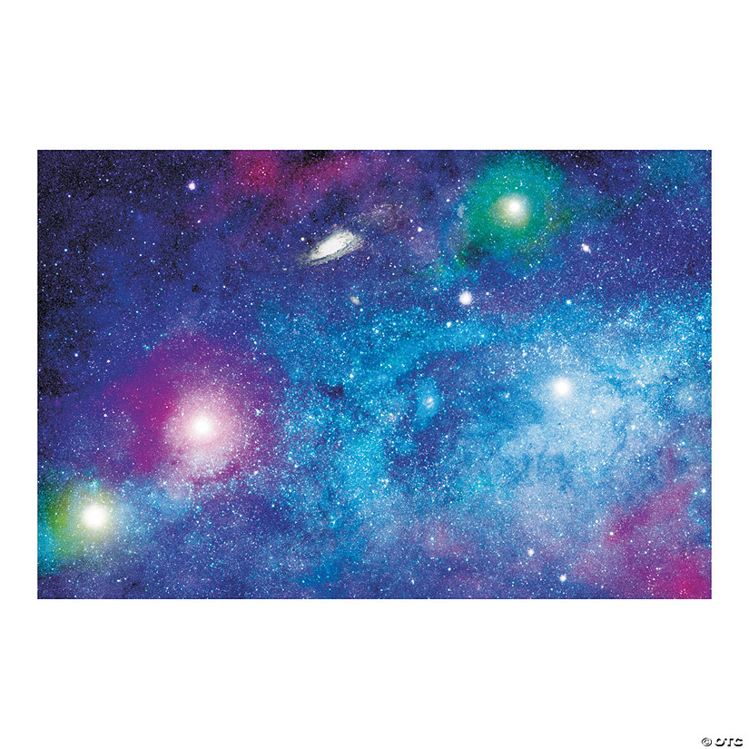 Space Galaxy Backdrop Oriental Trading