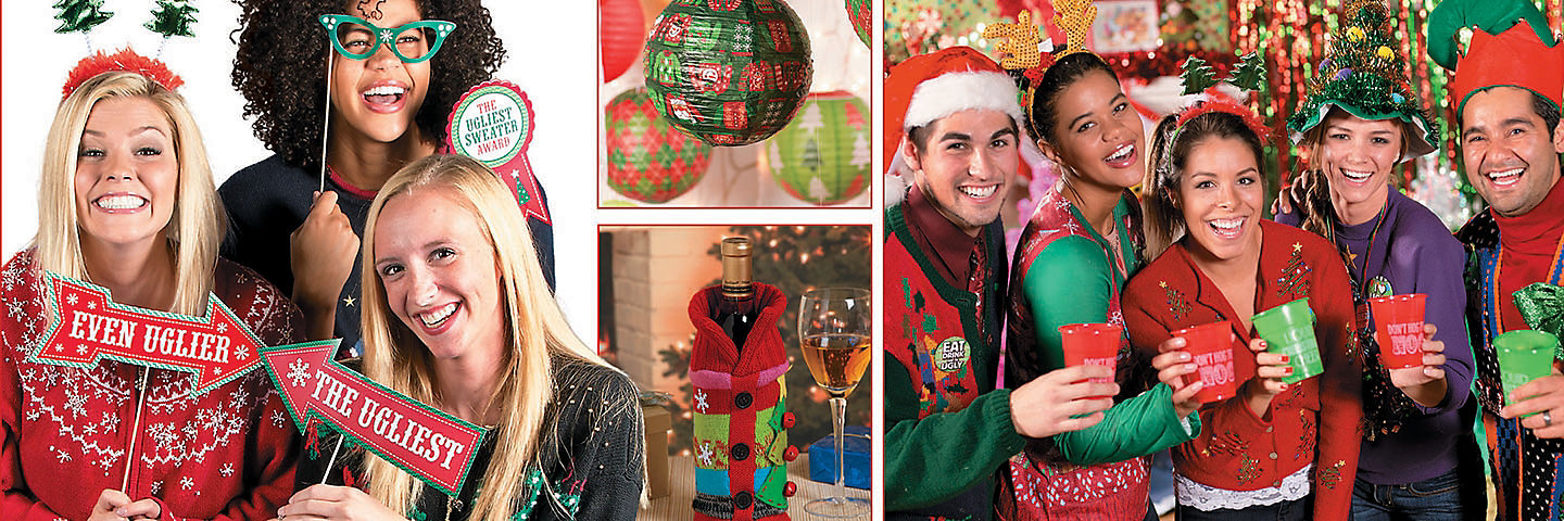 Ugly Christmas Sweater Party Supplies | Oriental Trading