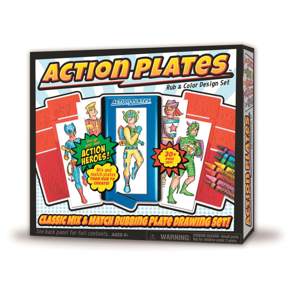 Action Plates Deluxe Kit From MindWare