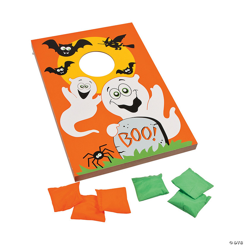 Pleasing Large Halloween Bean Bag Toss Game Bralicious Painted Fabric Chair Ideas Braliciousco
