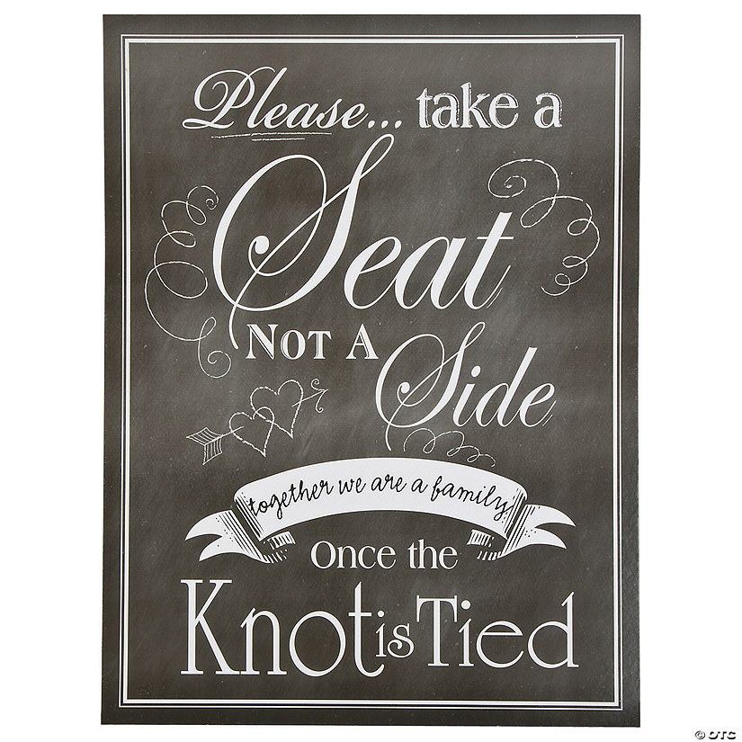 Wedding Seating Chart Sign