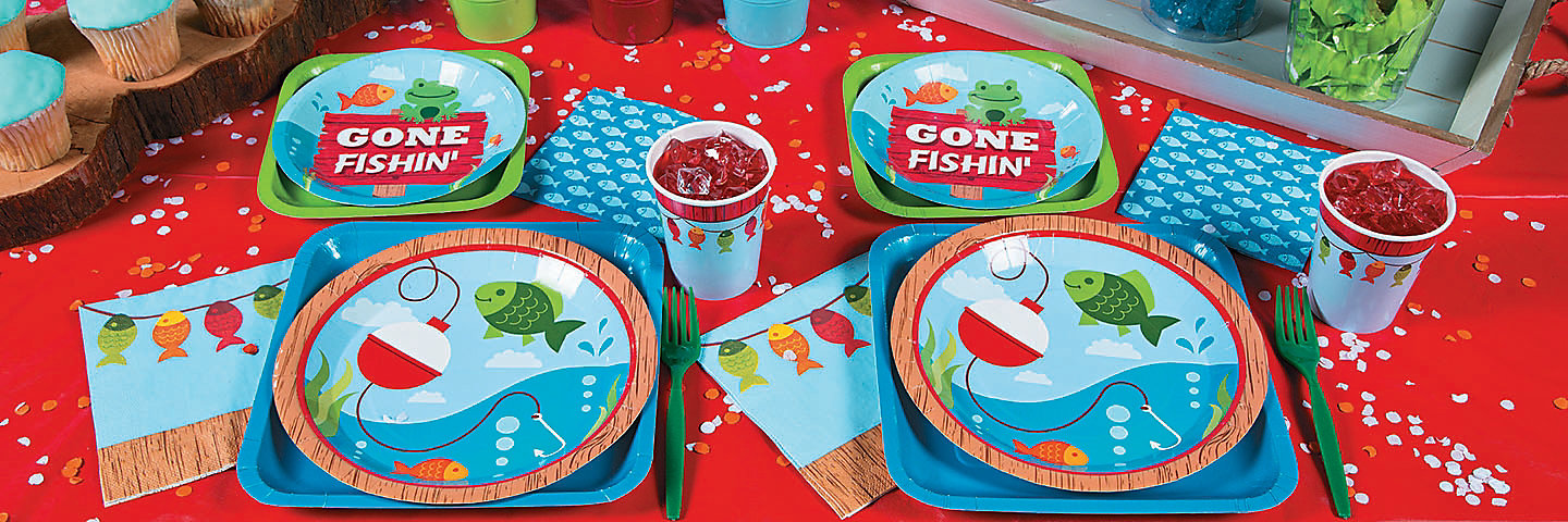 Little Fisherman Party Supplies