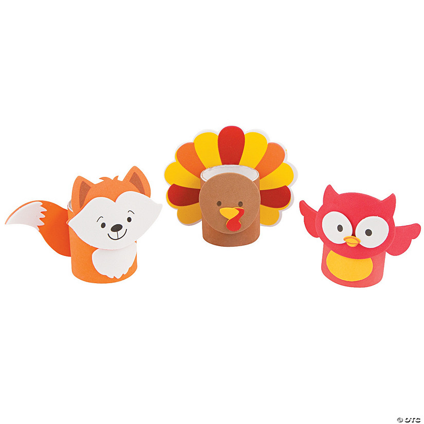 Mini Craft Roll Fall Characters Craft Kit Discontinued