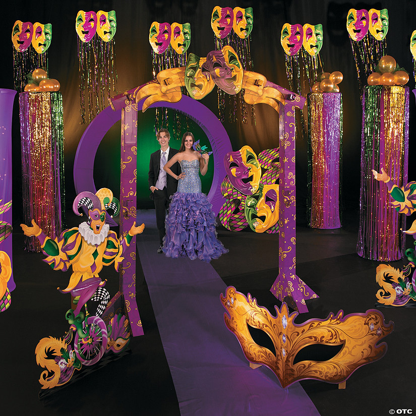 Mardi Gras Masquerade Ball Grand Décor Kit