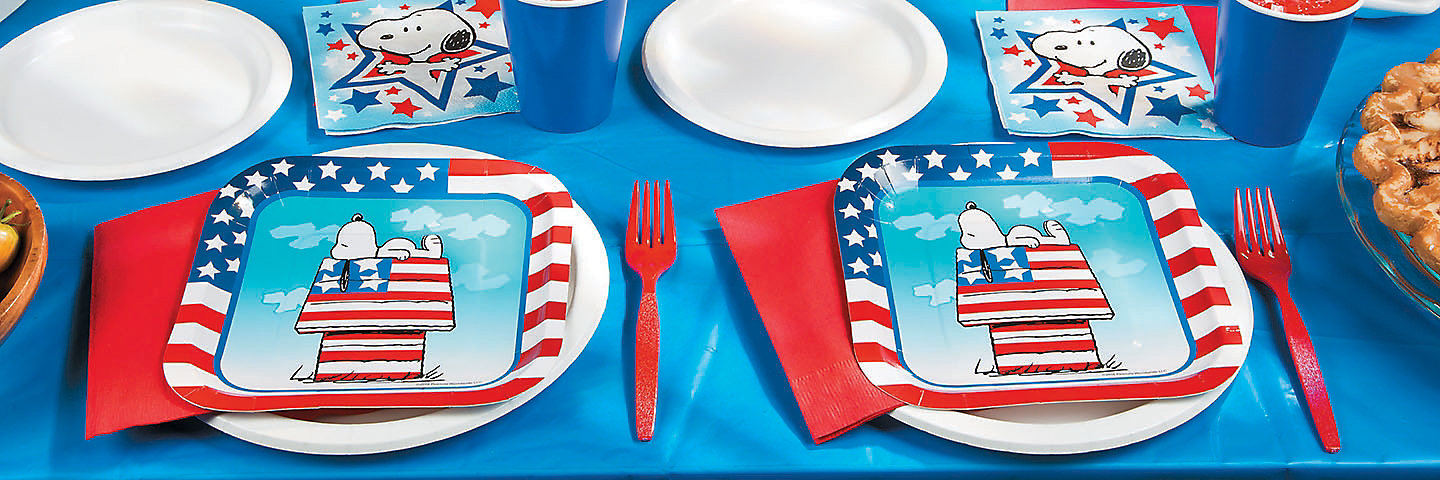 Peanuts® Patriotic Party Supplies