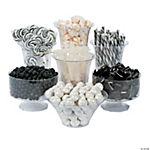Black & White Candy Buffet Assortment