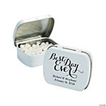 Personalized Best Day Ever Mint Tins