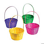 Large Solid Color Easter Baskets